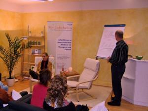 Hugo und Susanne im Raum für Heilung