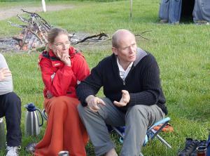 Hugo und Susanne beim Life-Dance-Festival
