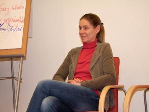 Susanne Kreft im Vortrag