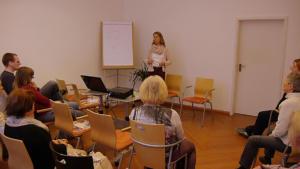 Seminarraum Vortrag Susanne Kreft