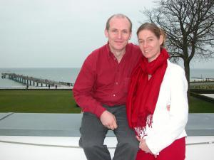 Hugo und Susanne auf der Messe
